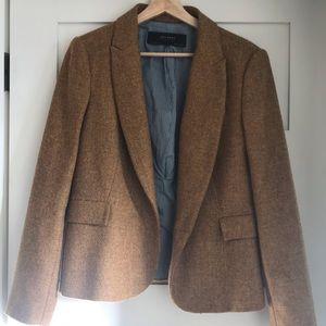 Zara mustard wool blazer, fits like a large
